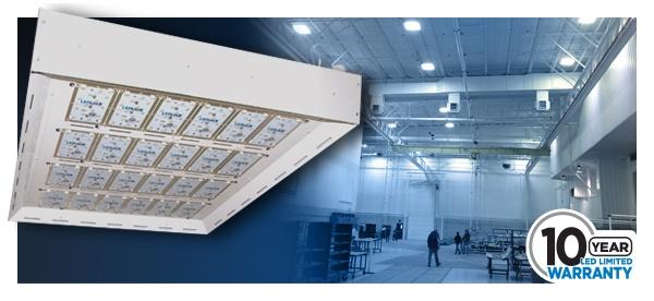 LHB LED Model 600 - a 65,000 lumen LED High Bay